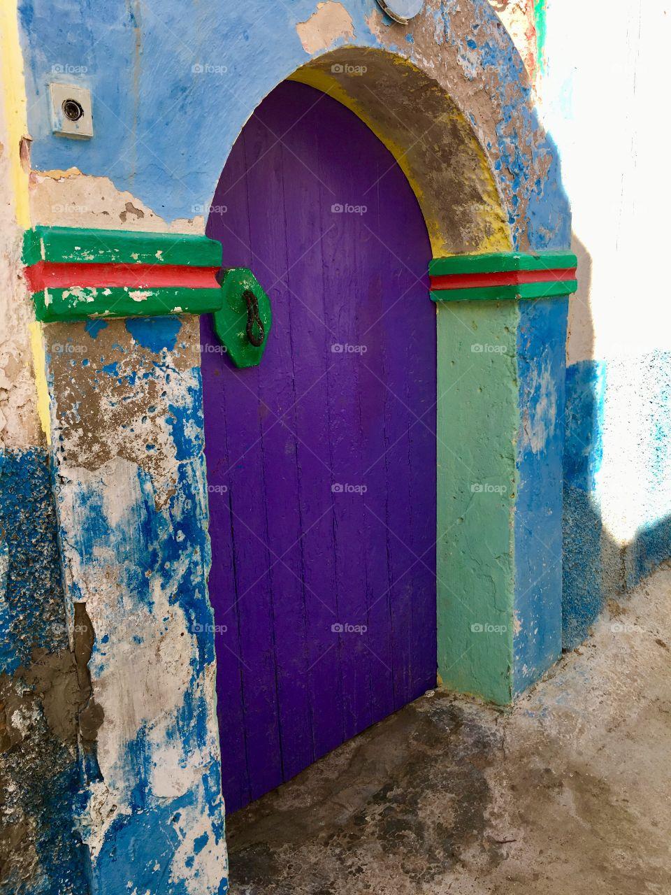 Old door Morocco