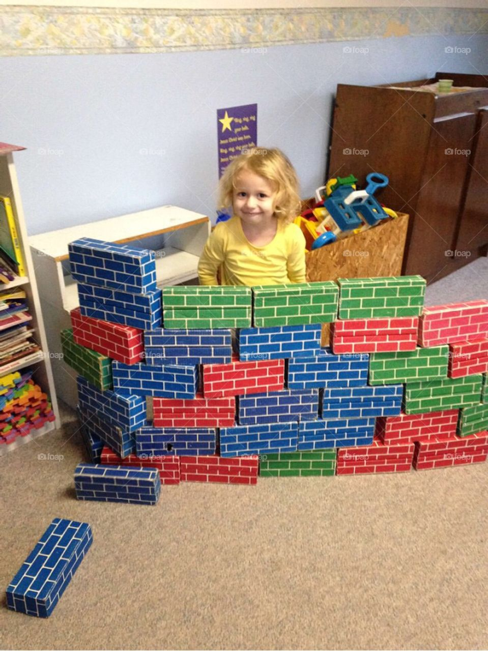 Trump said I had to build this wall! 😂