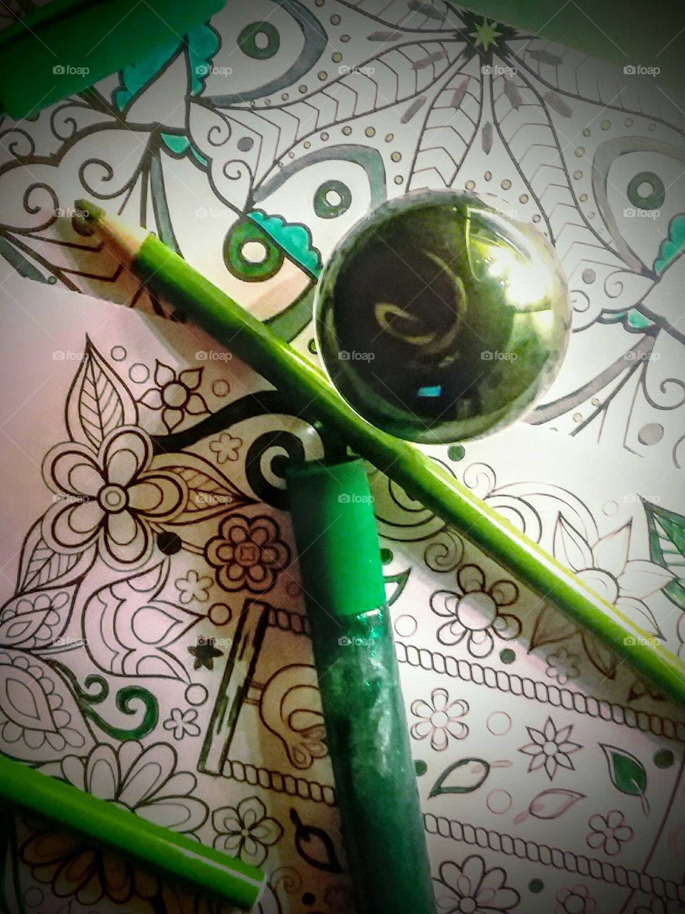 Color With Green (flowers & perfume)
