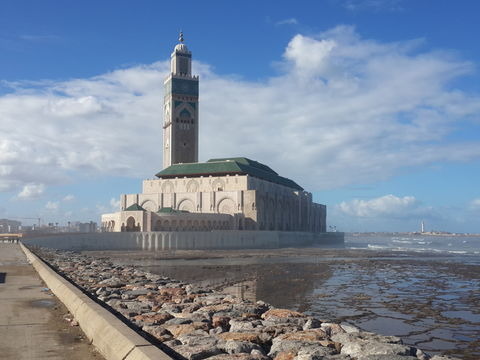 Mosque Hassan 2. Just a Famous Monument in my City