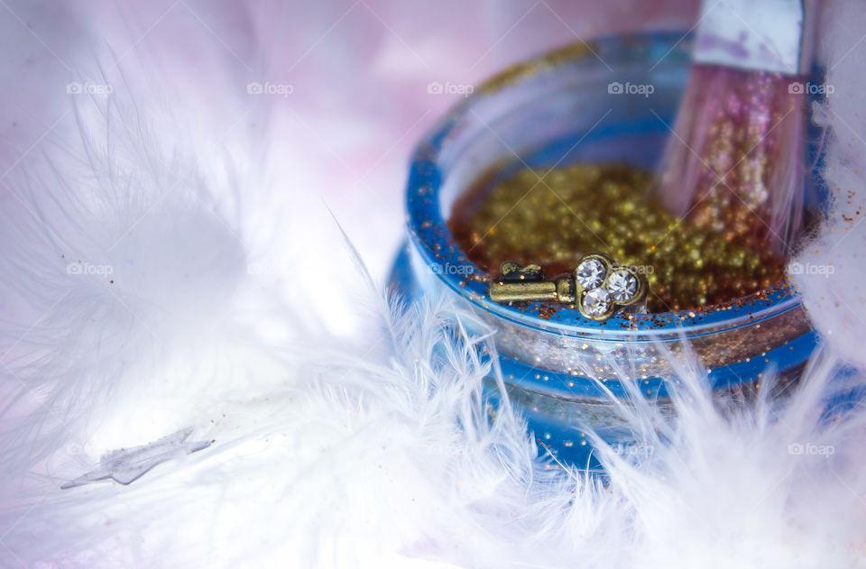 gold beauty cream