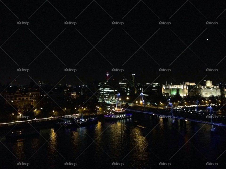 London Landscape Night