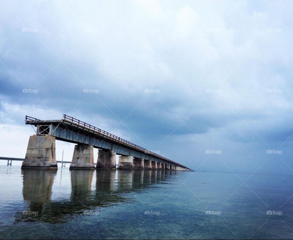 ocean bridge storm floridakeys by thegoodlife