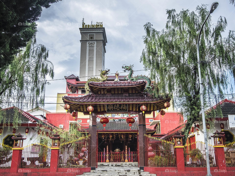 The Red Temple