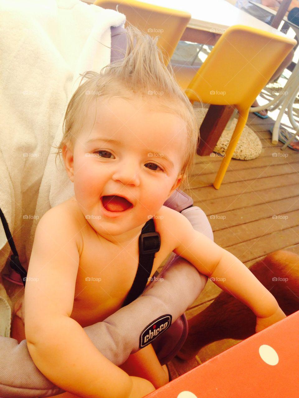 Child, Indoors, Cute, Fun, Little