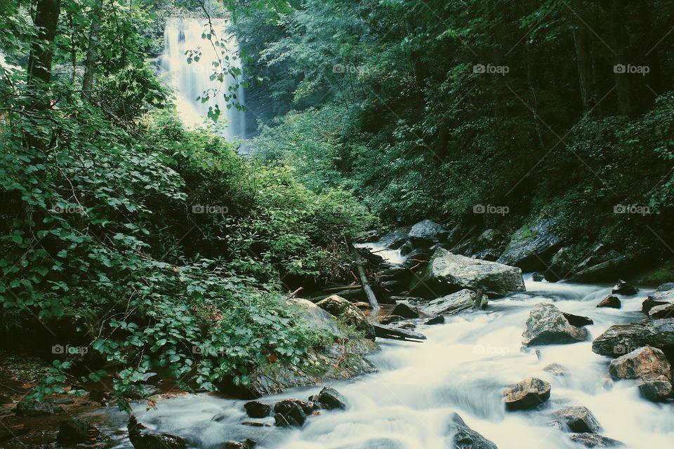Falls and nature