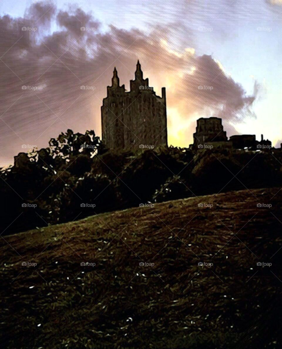 El Dorado New York City Architectural Image, Upper West Side, Manhattan, New York City.