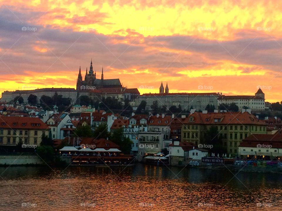 Sunset - Prague
