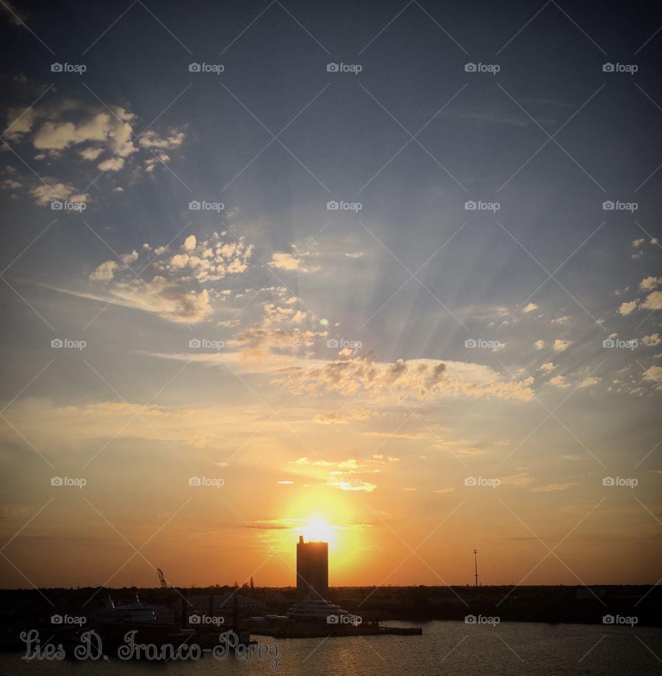 A Fort Pierce Sunset