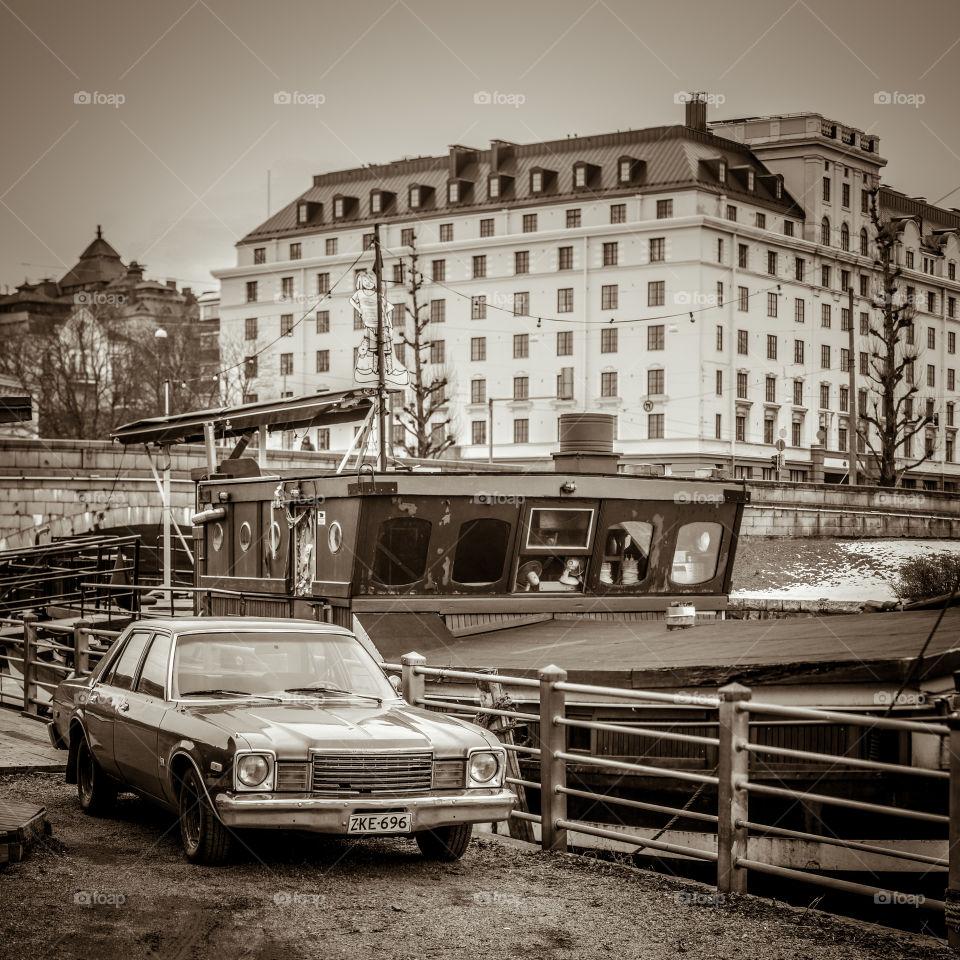 Helsinki sepia