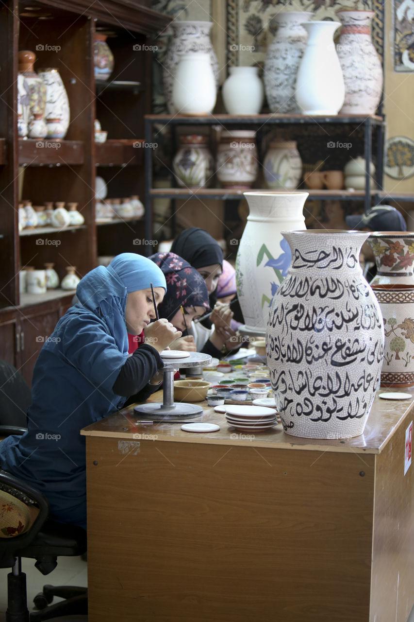 hand painting in jordan