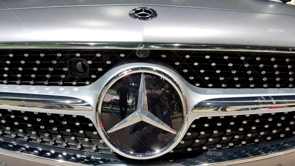 Mercedes new logo design