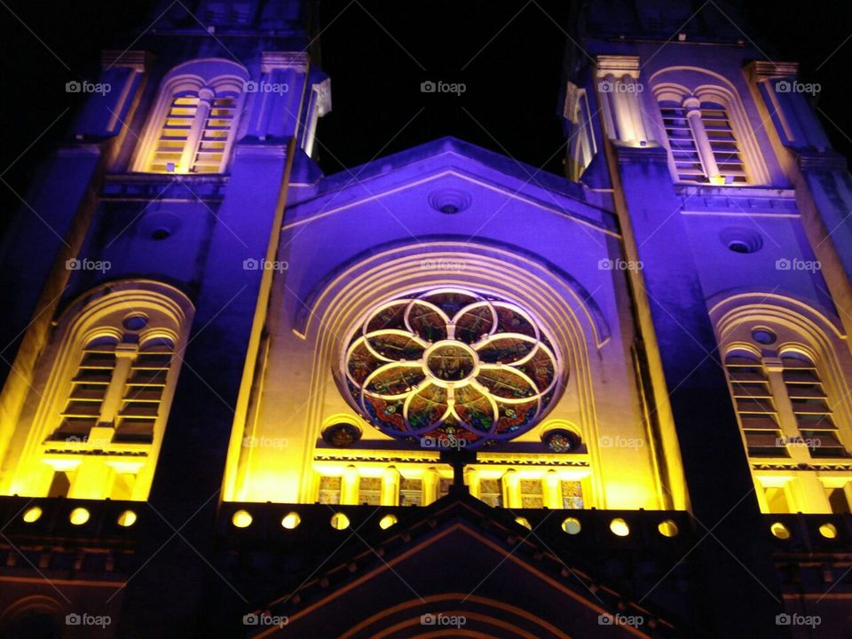 Metropolitan Cathedral, Fortaleza, Ceará, Brasil.