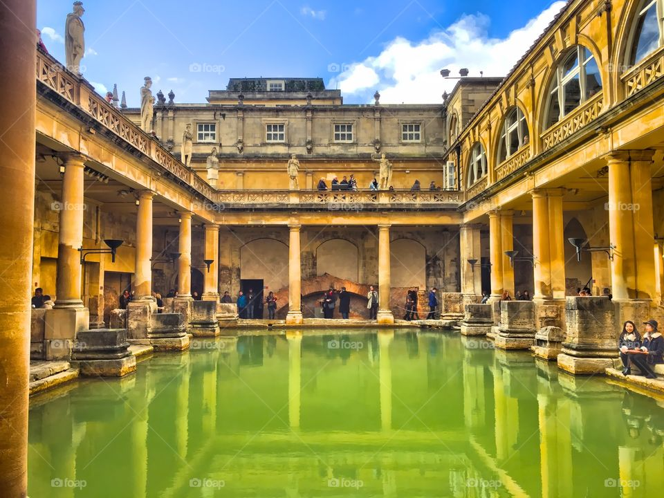 Romans bath