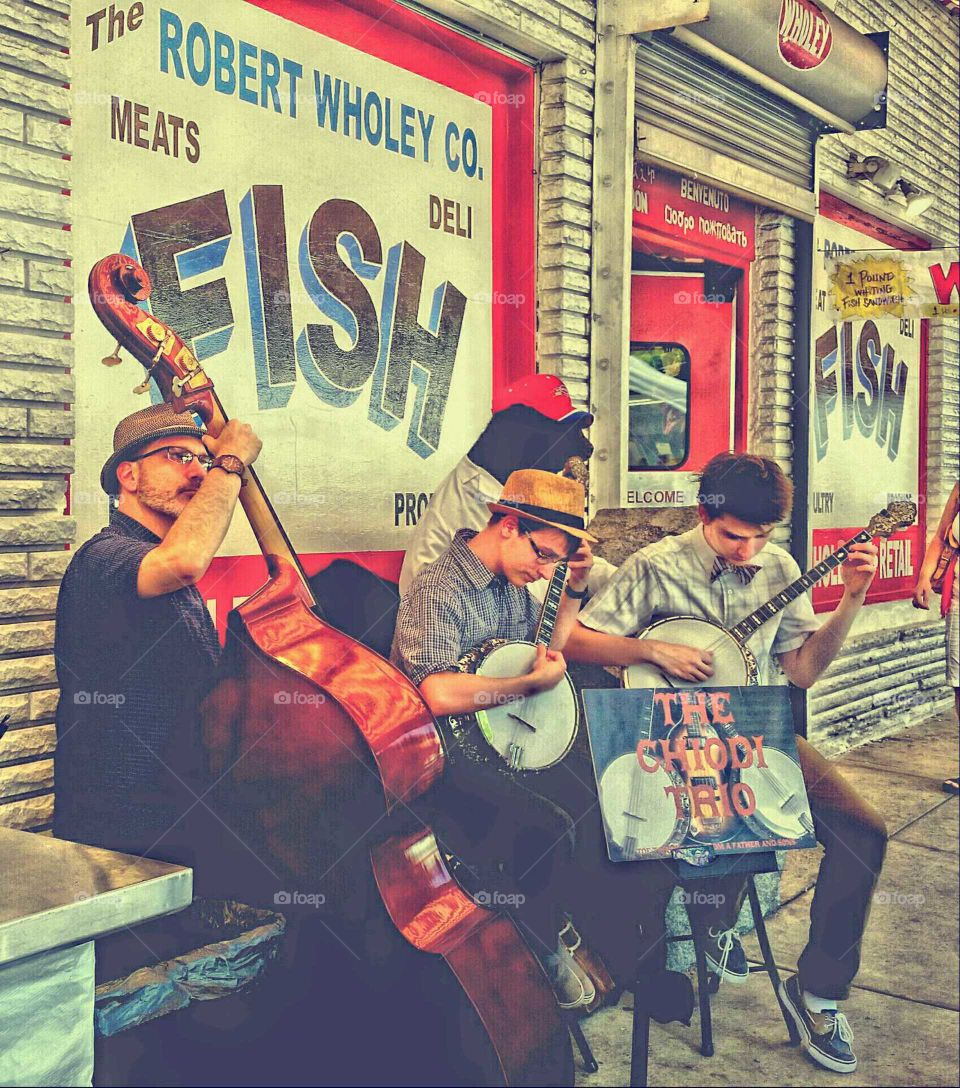 Street Musicians in Pittsburgh