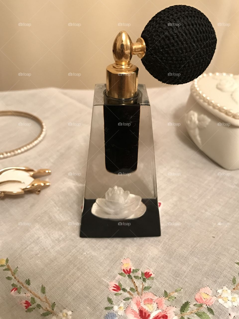 1950's Lady Jane perfume atomizer