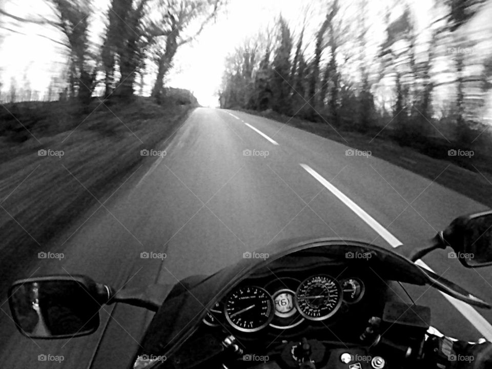 motorcycle riding in Wales