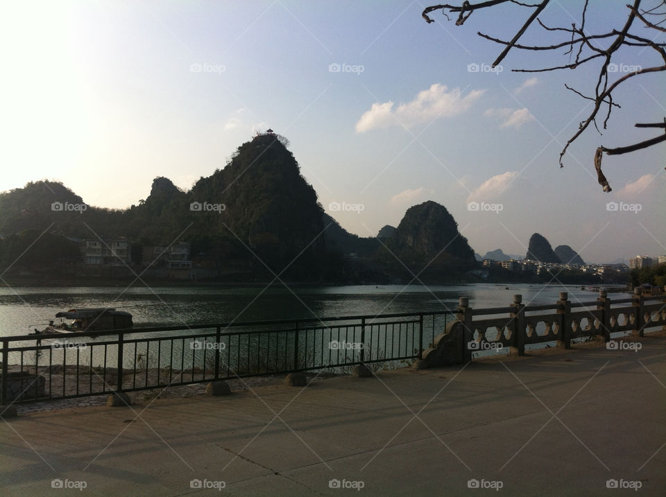 The Li River in Guilin, China