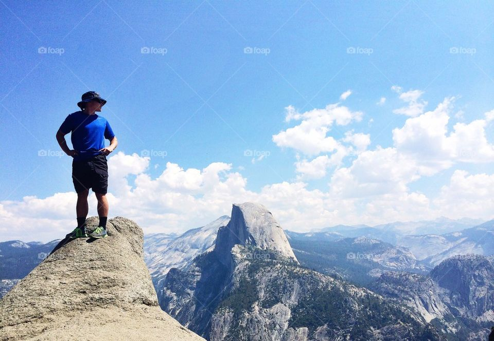 mountain   hike, climb, adventure, snow