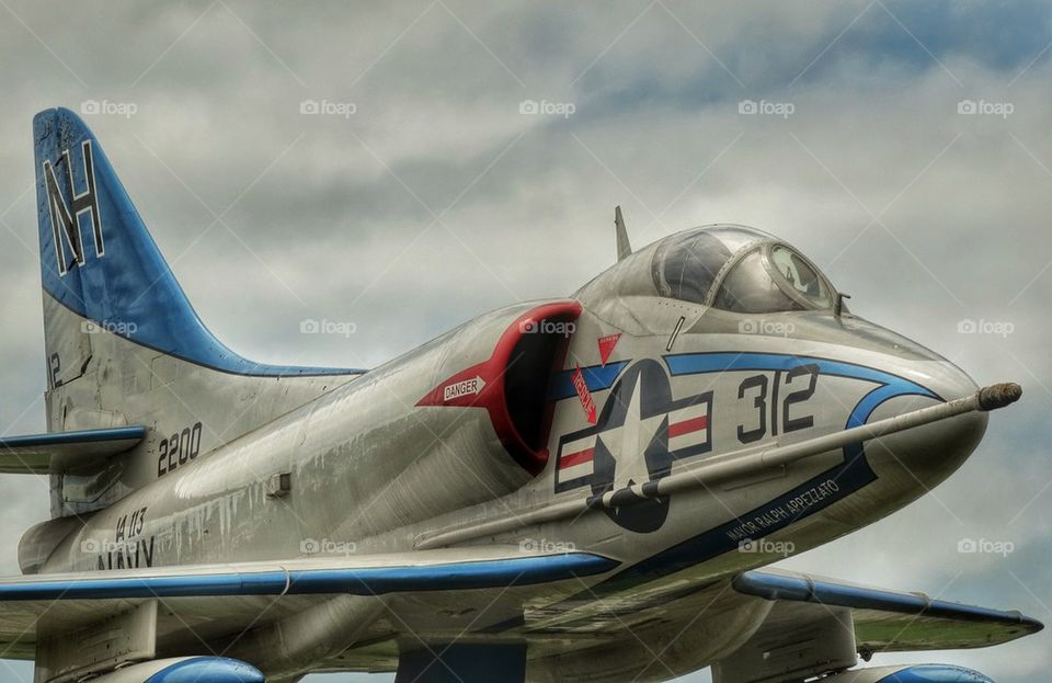 Cold War Fighter Plane