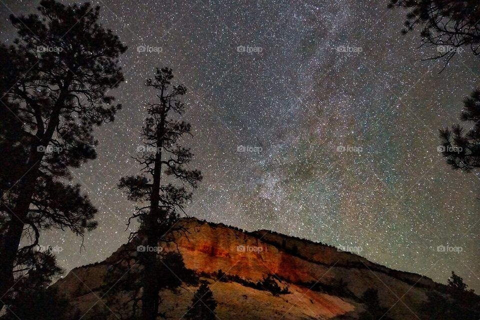 Milky Way over Zion National Park, USA