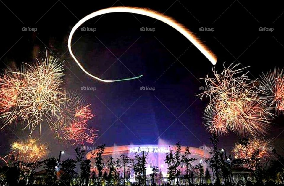 New year's Eve at Philippine Arena
