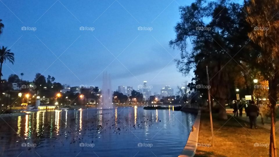 Water, City, Reflection, Travel, Sky