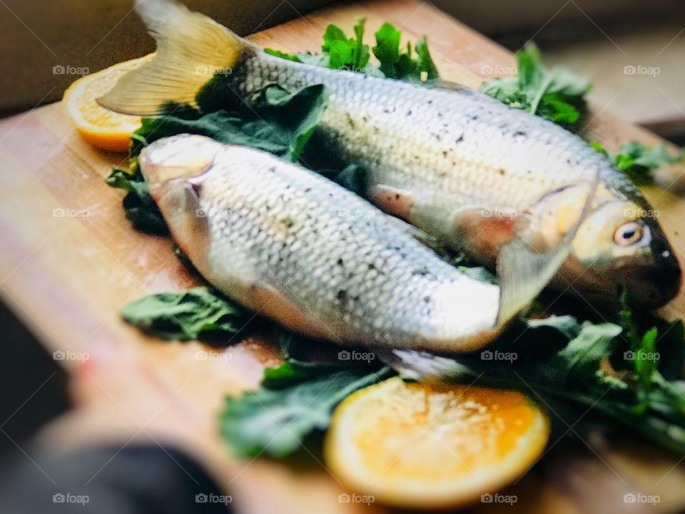 baking fish