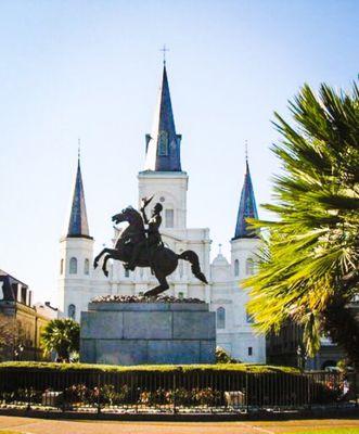 Jackson square . New Orleans