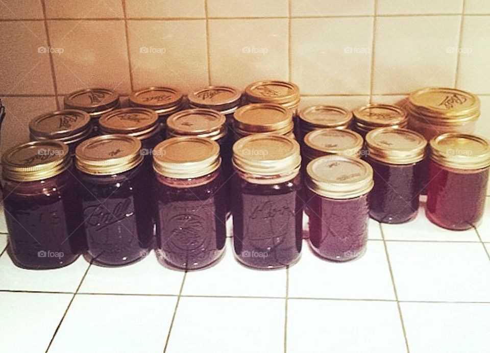 Summer canning