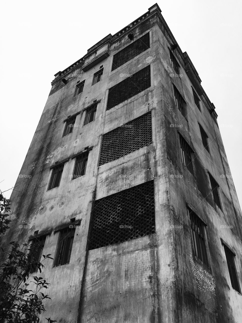 Derelict Building in Shenzhen, China