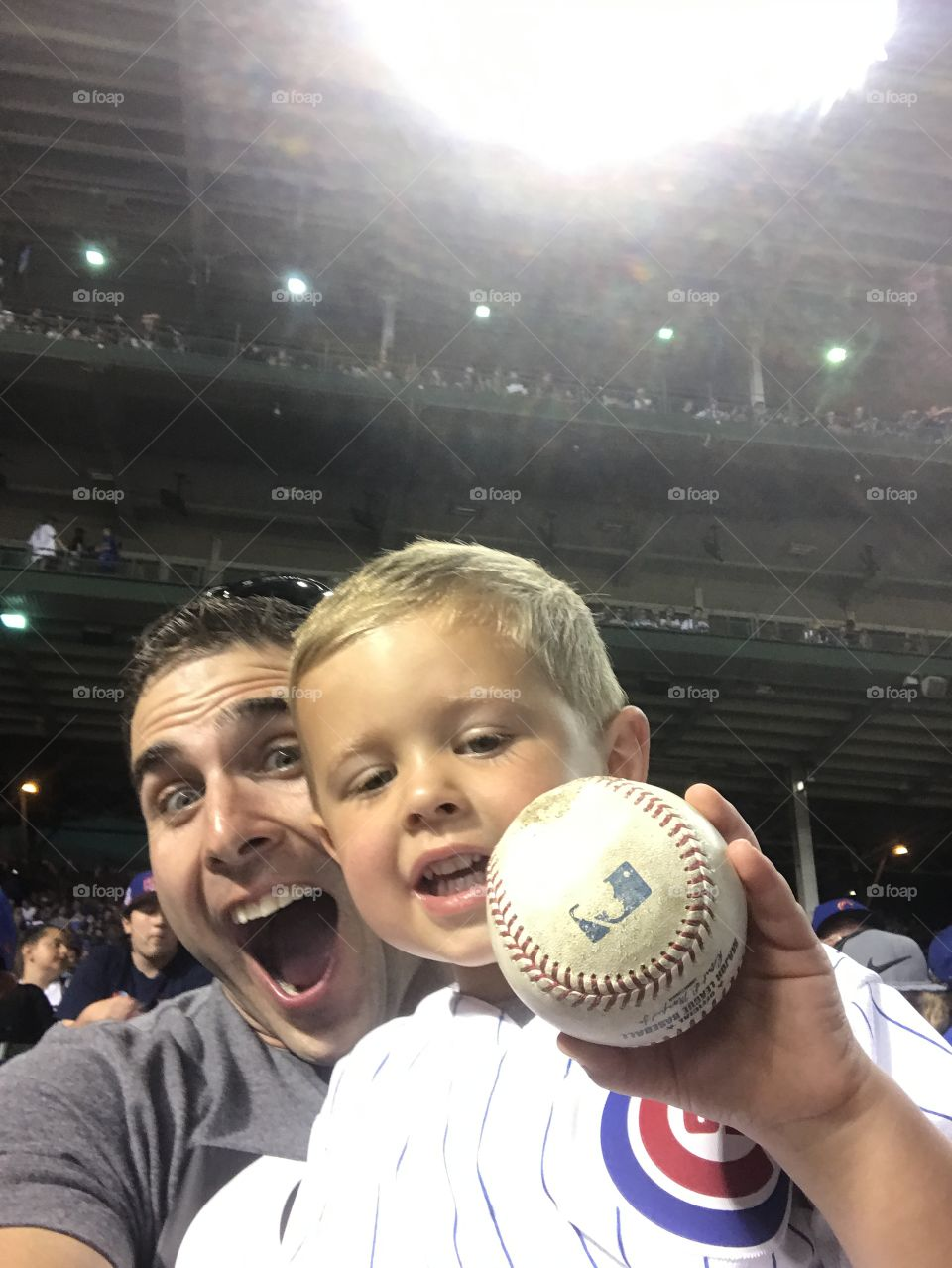 Caught a ball!!!