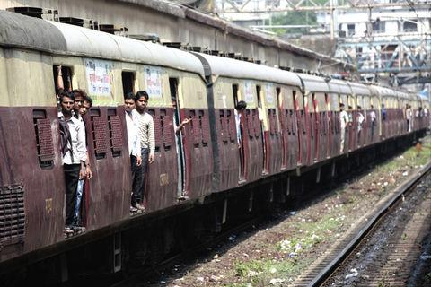 travel train commute men by samchadwick