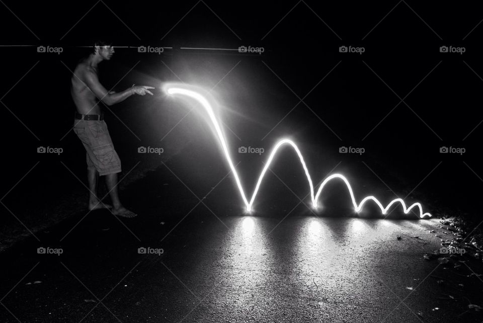 Bouncing light