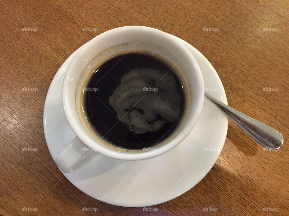Coffee. For afternoon refreshment