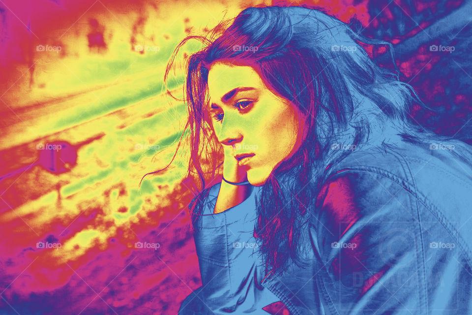 #digitalart  #applepencil #Drawing #paint #art  #girl #face      #ps #adobe #photoshop #edits  #designgraphic #portrait  #effect