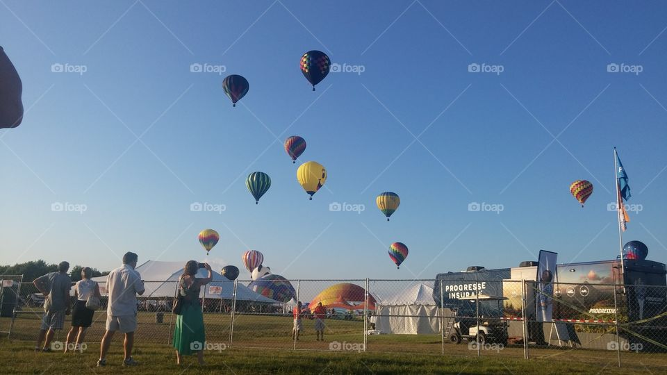 Ballons festival. Whitehouse
