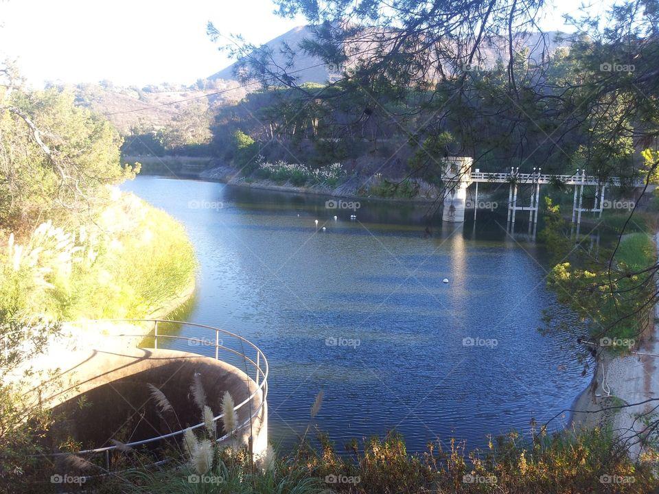 Hollywood reservoir / Hollywood lake