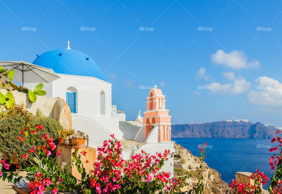 Church, Greece, Oia, Santorini