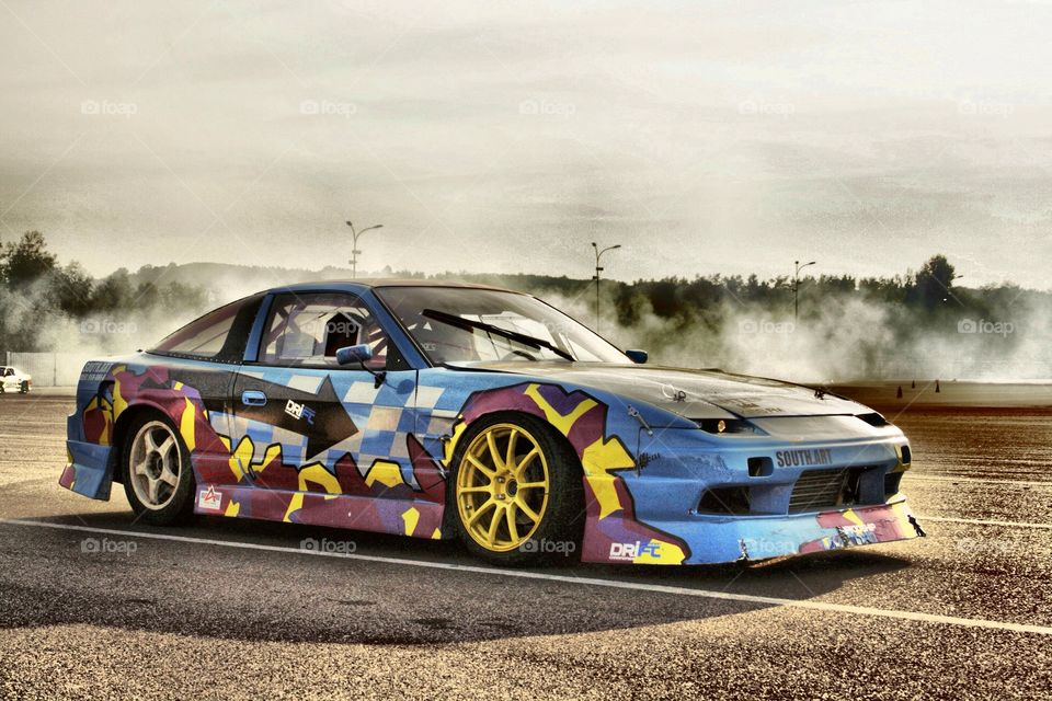 On the road... . Drift, car racing, fast and furious...