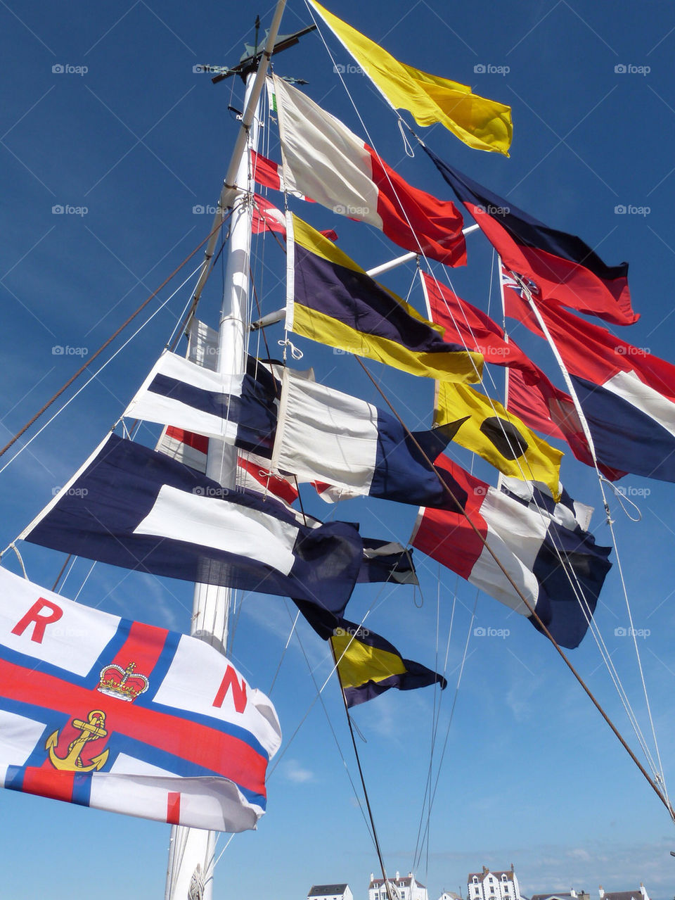 colours flags windy flagpole by samspeed87