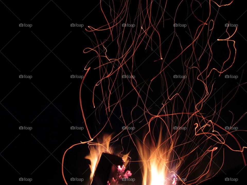 Minimalistic Snaps, Campfire