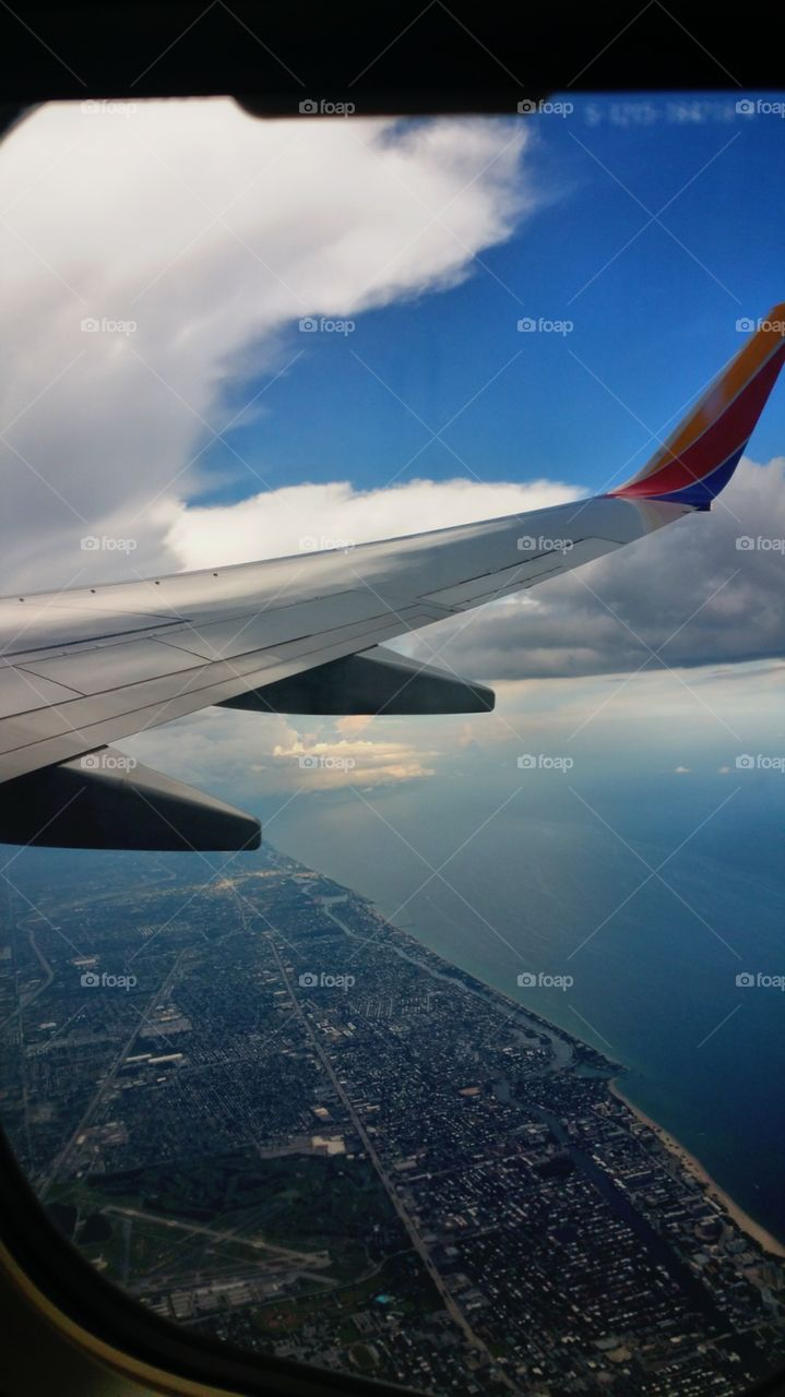 Water and land Flight from Fort Lauderdale to Buffalo NY