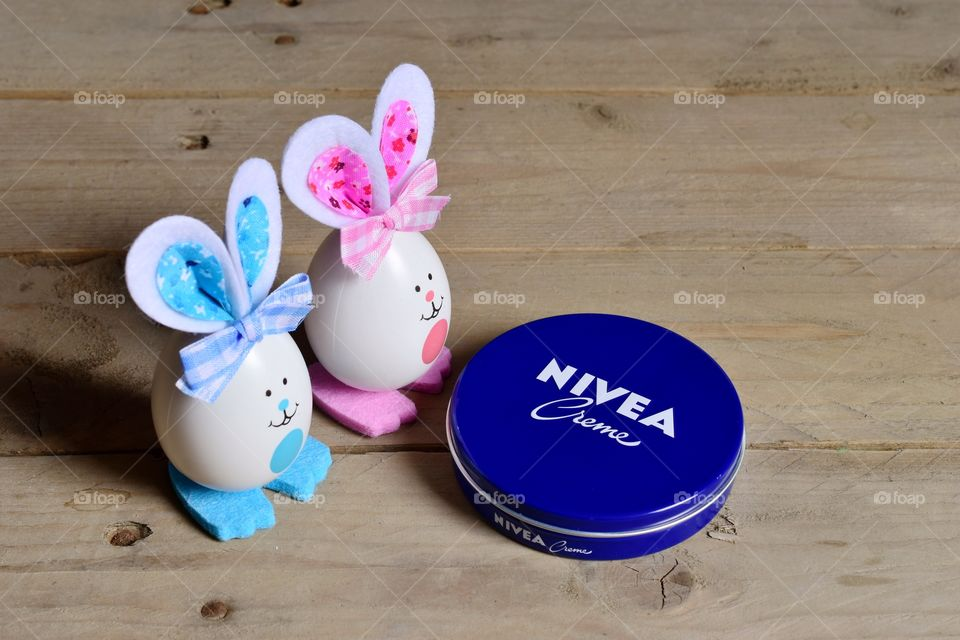 Colorful Easter with Nivea