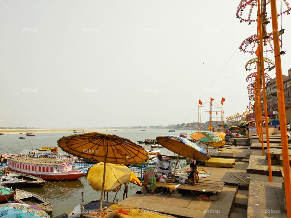 varanasi's beautiful ghat.