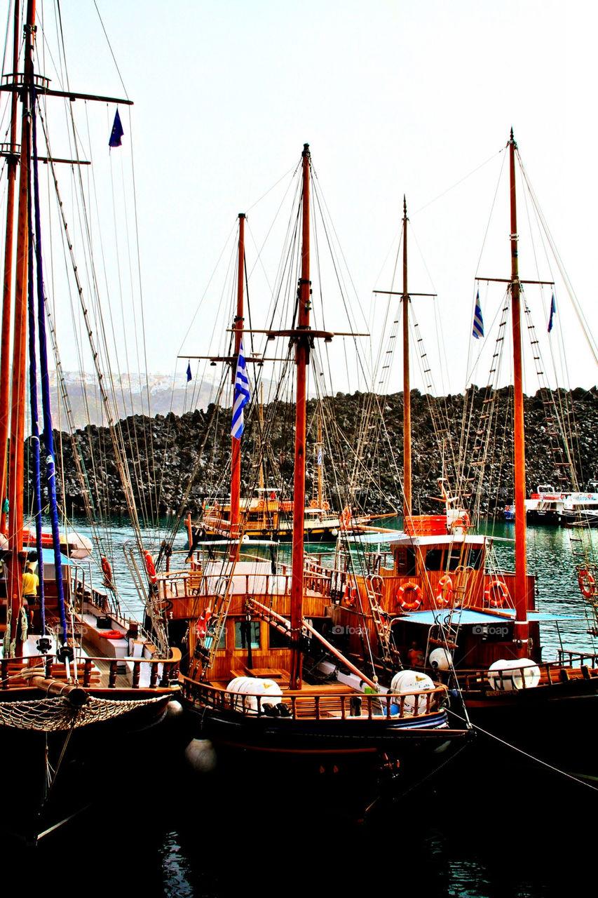 ocean boat scenic pier by ilacas