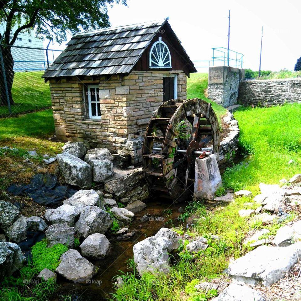 Antique Water Wheel