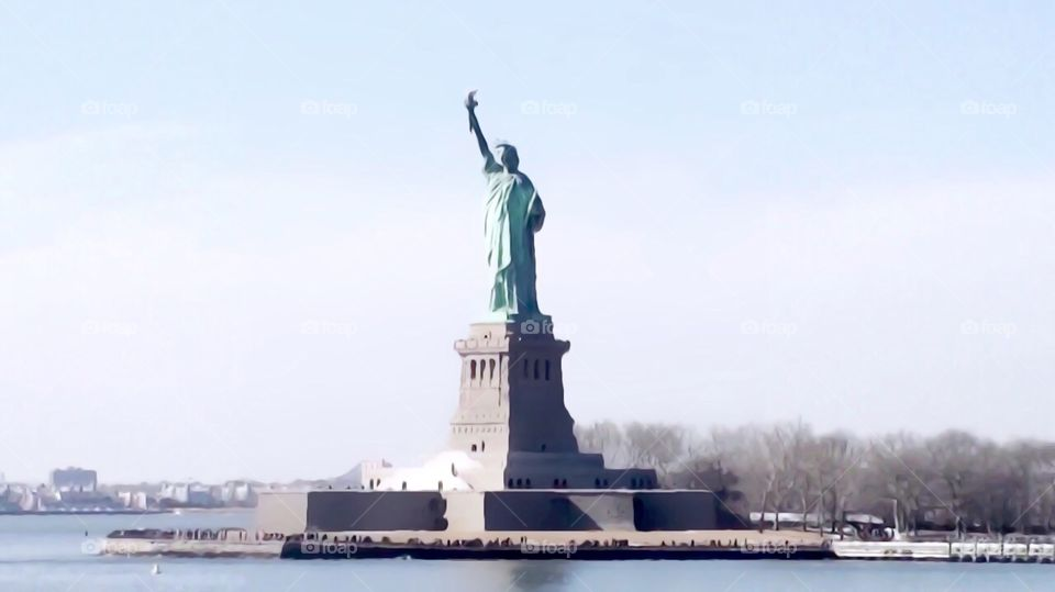 Statue Of Liberty, New York Harbor, New York City. Instagram,@PennyPeronto