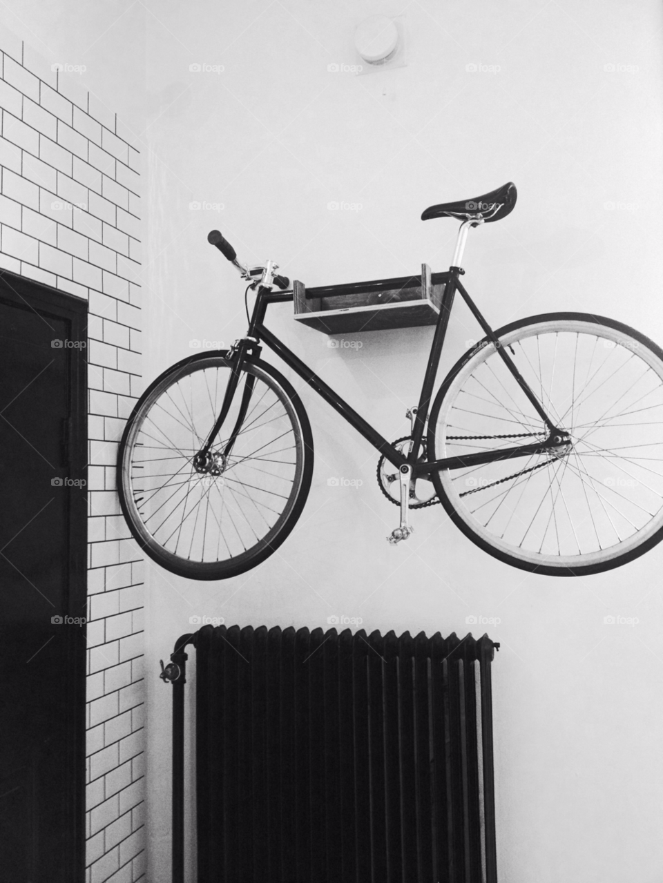 cykel hanging black and white sport by PiaPising