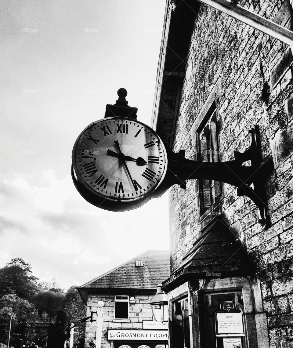 Railwaystation clock